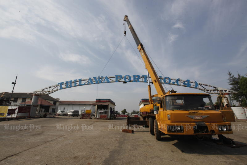 More than 70 businesses operate in the Thilawa Speical Economic Zone. (Bangkok Post photo)