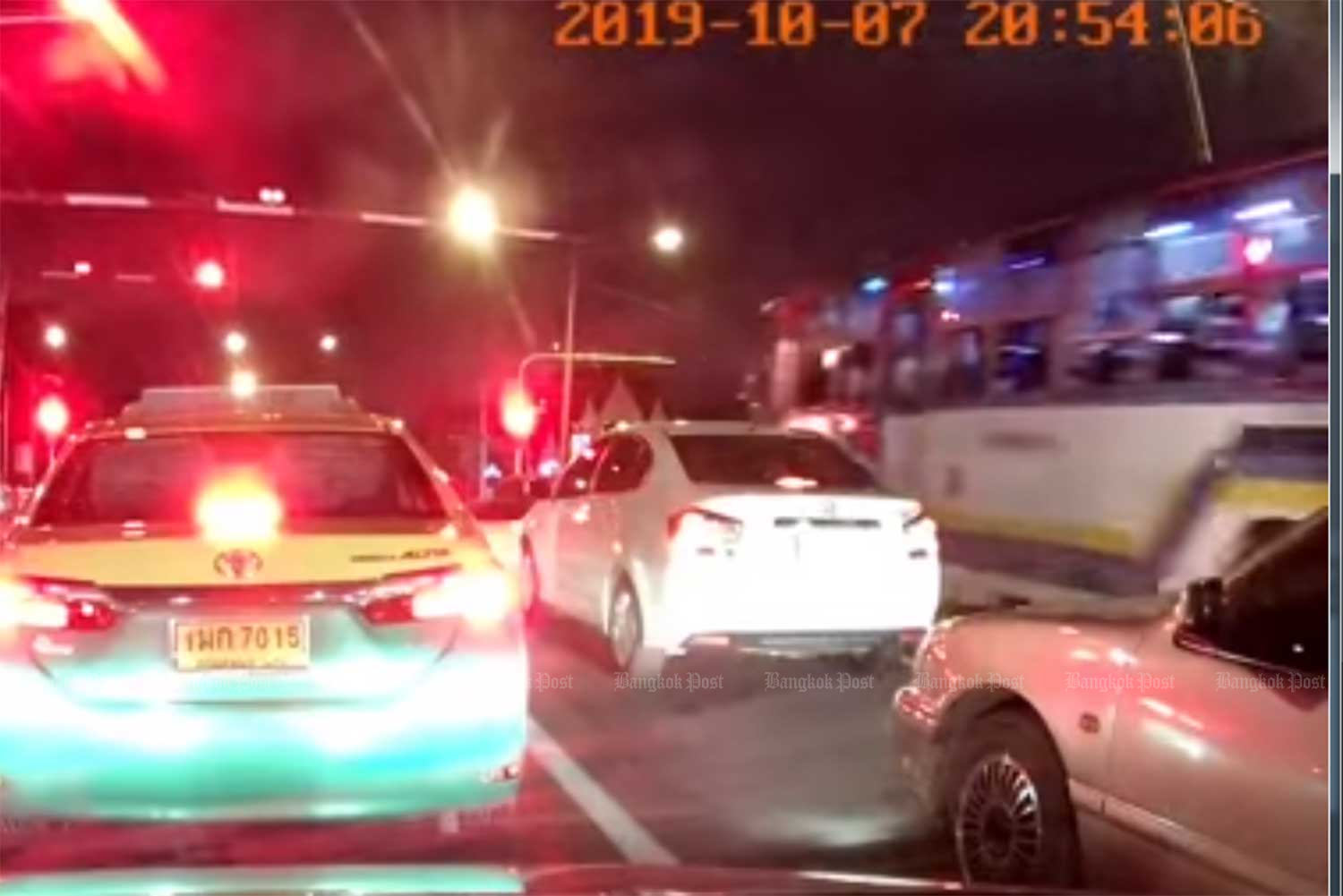 VIDEO: Bus driver fired after going through rail barrier