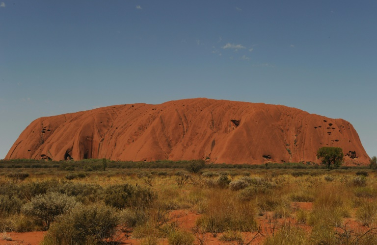 Uluru, formerly known as Ayers Rock, is a huge sandstone rock formation and the world's biggest monolith.