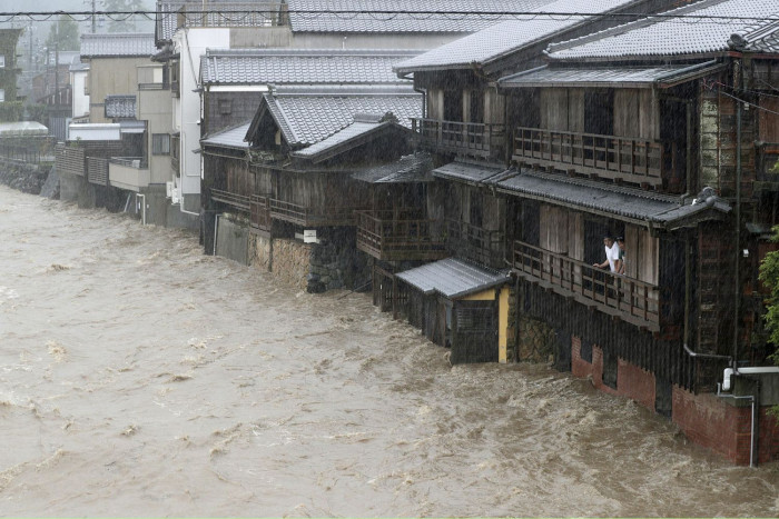 One killed in Japan as typhoon approaches