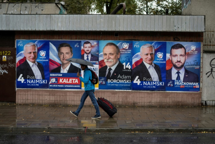 Populists eye victory in deeply divided Poland