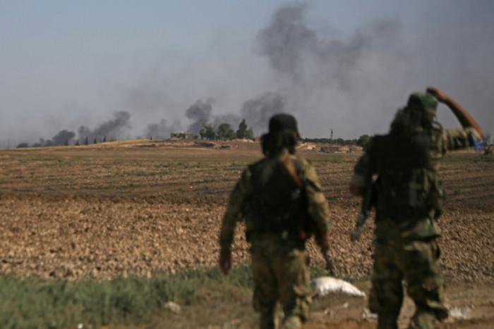 IS families escape Syria camp as Turkey battles Kurds