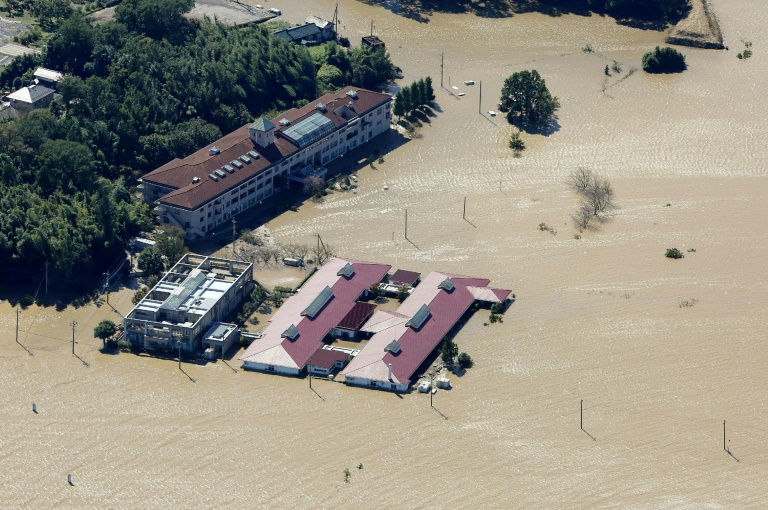Typhoon Hagibis brought heavy rains to Japan that caused devastating flooding in several parts of the country.
