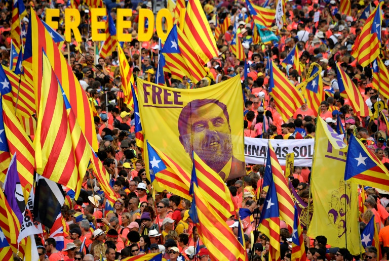Protests erupt as Spain convicts leading Catalan separatists