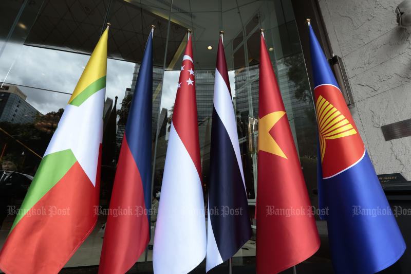 The Asean summit will be held from Nov 2-4 and the cabinet has approved Nov 4-5 as holidays for government offices in Bangkok and Nonthaburi. (Bangkok Post photo)