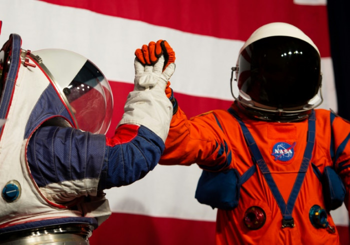 NASA unveils flexible, one-size-fits-all space suits