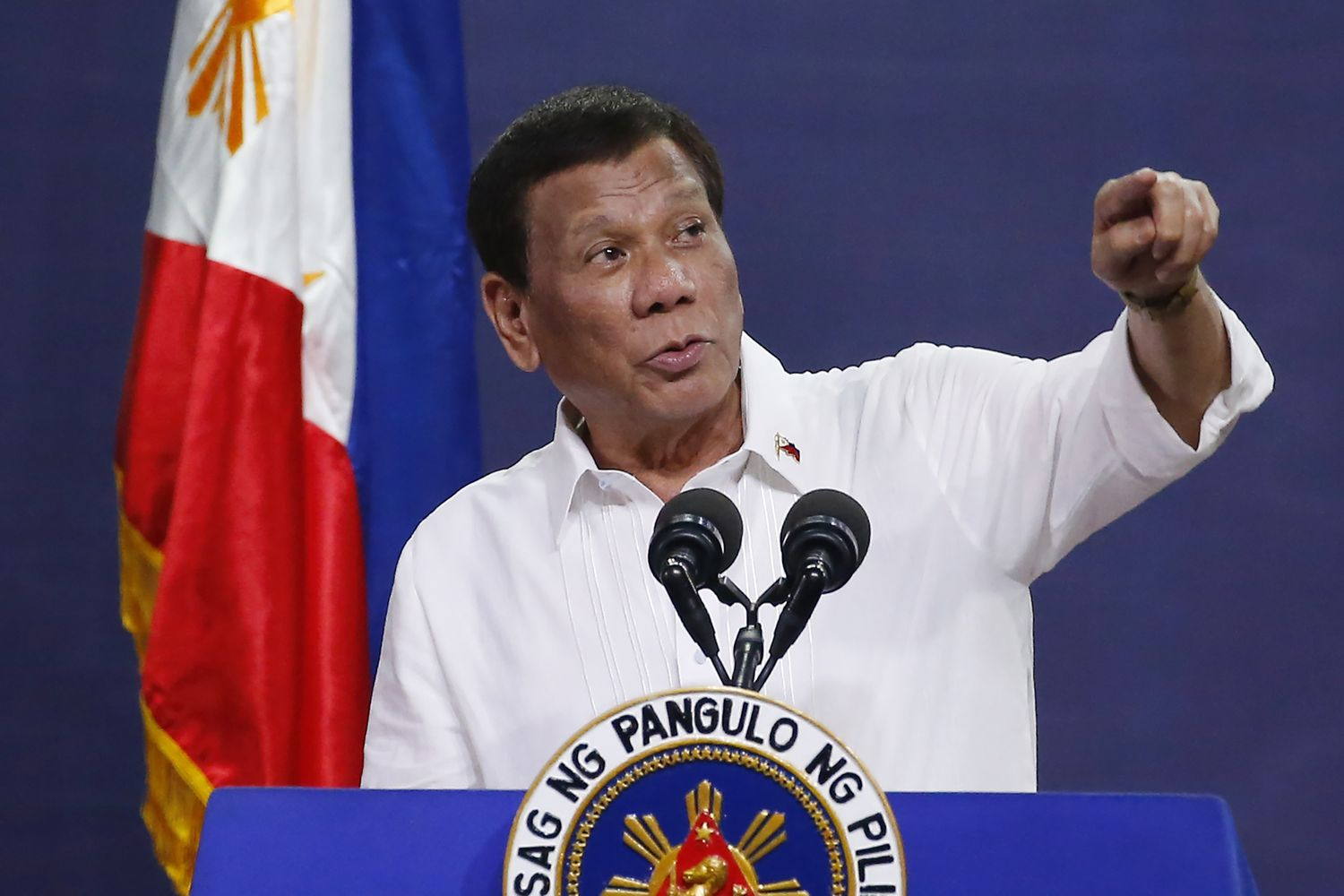 Phillipines President Rodrigo Duterte hurt in motorcycle accident