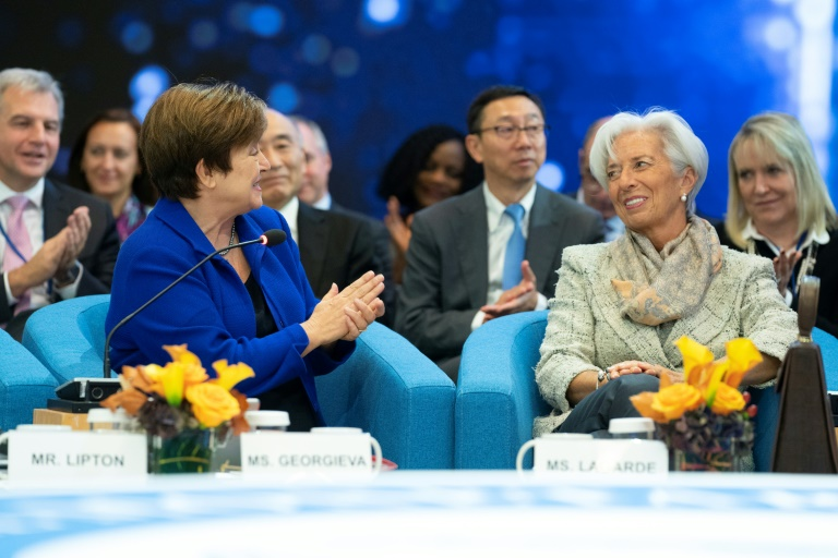 International Monetary Fund  chief pushes for 'peer pressure' to follow, fix global trade rules