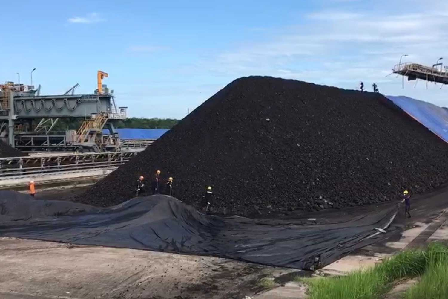 The Mae Moh coal mine of the Electricity Generating Authority of Thailand in Mae Moh district of Lampang. (Photo from Egat)