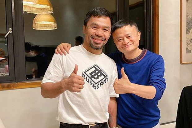 Jack Ma,founder of Ali Baba challenges Floyd Mayweather to a boxing fight