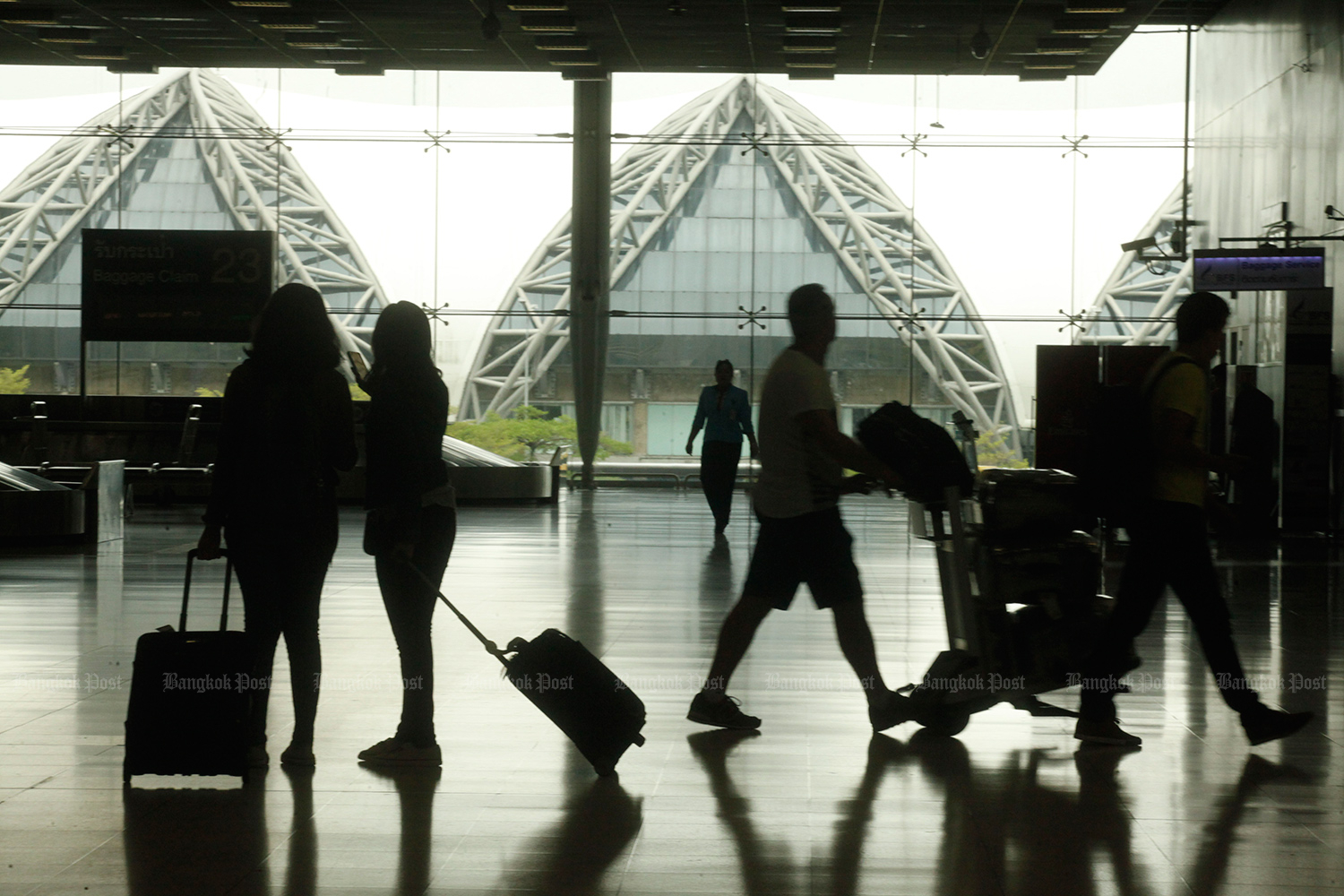 Suvarnabhumi is one of the most popular airports for charter flights to Thailand. (Bangkok Post photo)