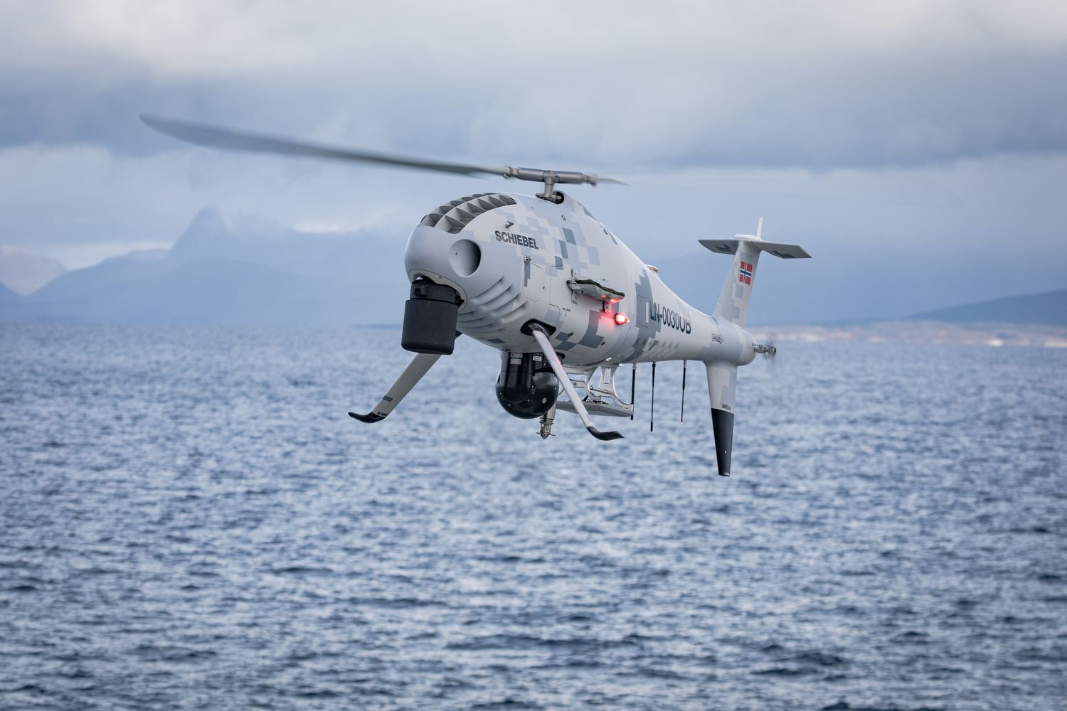The Royal Thai Navy will buy two of the S-100 camcopters. (Photo from  Schiebel Corporation website)