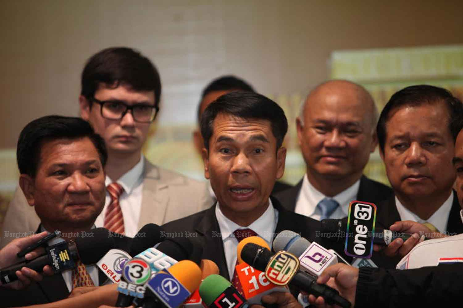 Chief opposition whip Suthin Khlangsaeng