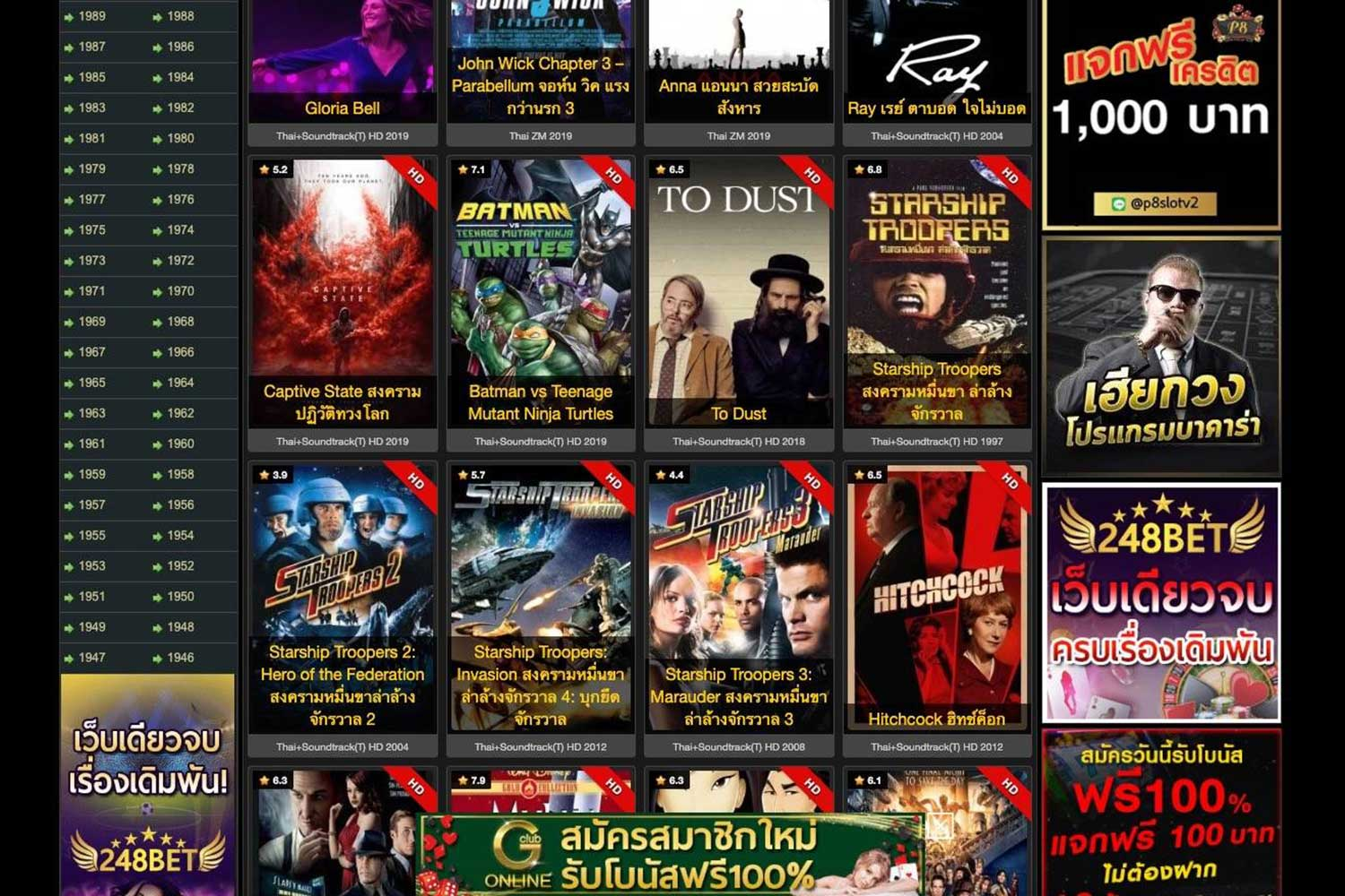 Top-rated website movie2free.com streamed about 3,000 pirated Thai and foreign movies online. It has been shut down by the DSI and the administrator arrested. (Photo: DSI)