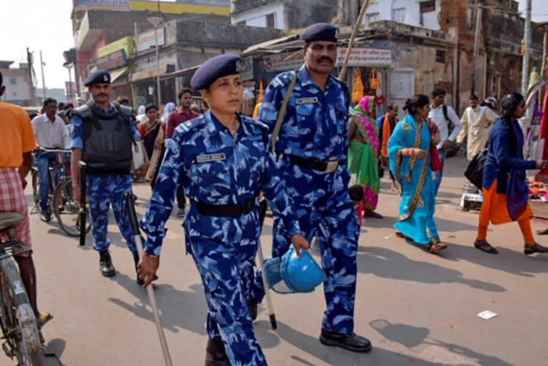 Security has been stepped up in the Indian city of Ayodhya ahead of a Supreme Court verdict on the future of a disputed religious site