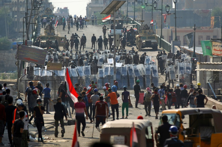 Iraqi PM calls for protests to allow a return to 'normal life'