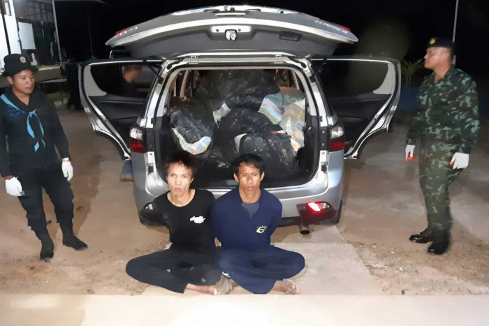 Five smugglers caught, 5m speed pills seized
