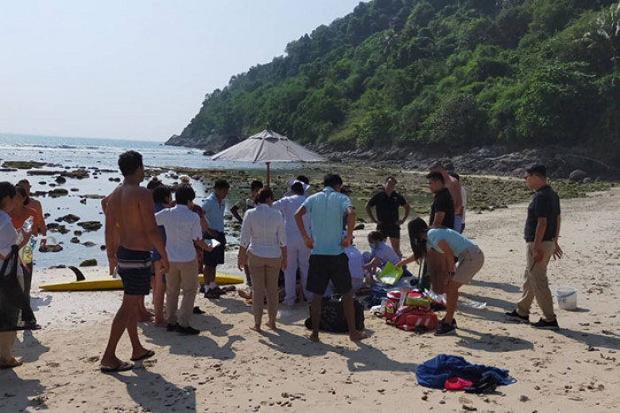 Another drowning Chinese tourist saved in Phuket