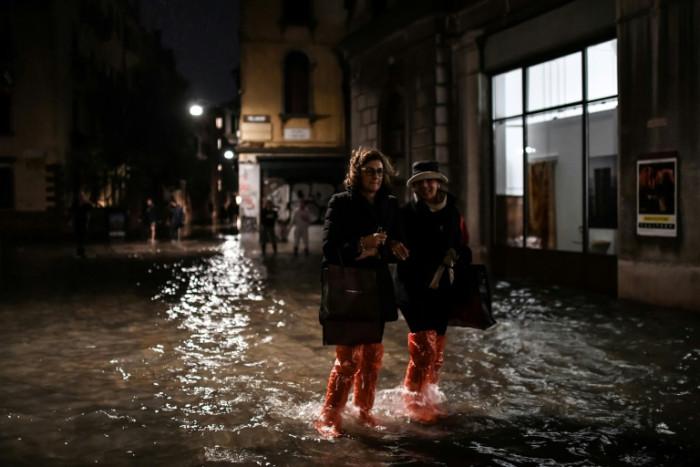 Venice awash as tide sweeps through canal city