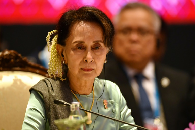 Former democracy icon Aung San Suu Kyi is among several top Myanmar officials named in a case filed in Argentina alleging genocide against Rohingya.
