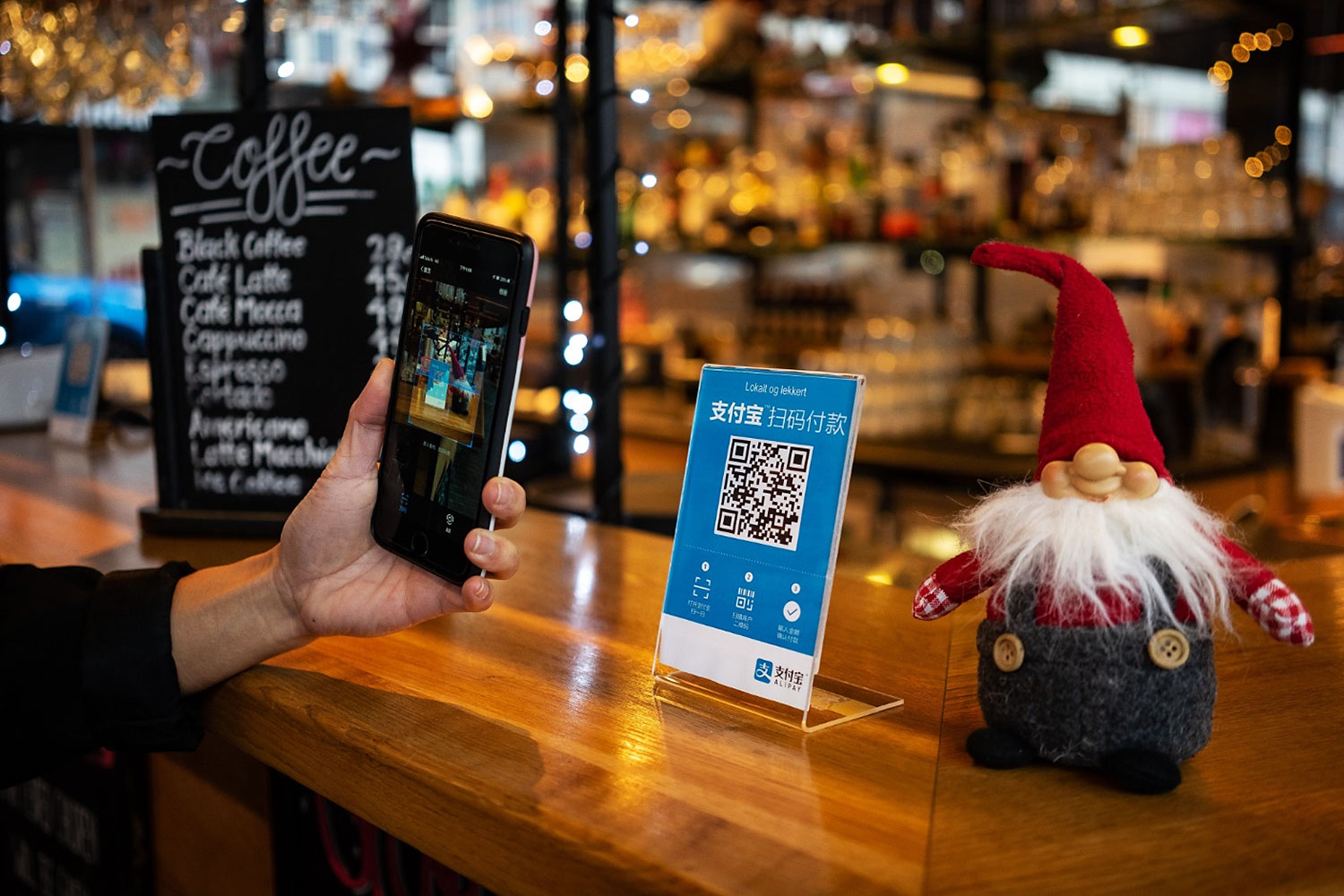 Retailers accepting mobile payments have observed that Chinese customers are more interested in buying when a mobile payment solution from their country is available.