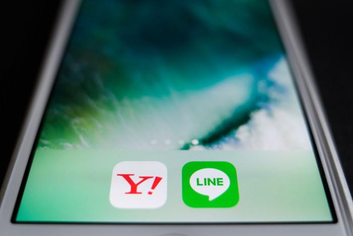 Yahoo Japan, Line to merge business