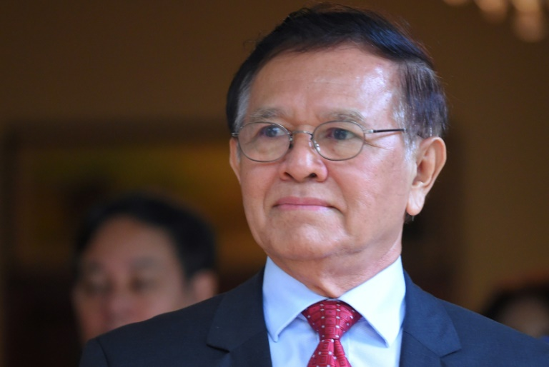 Kem Sokha, 66, is the co-founder of the banned Cambodia National Rescue Party.