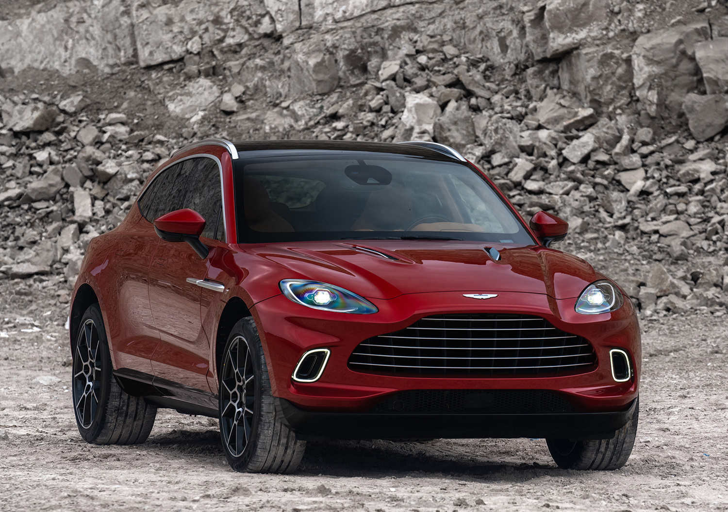 Aston Martin Unleashes 2020 Dbx For The Showroom