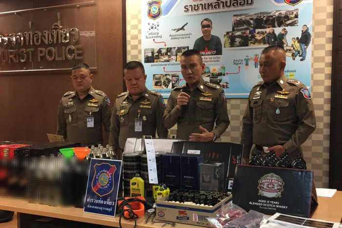 Malaysian 'king of fake liquor' caught in Bangkok