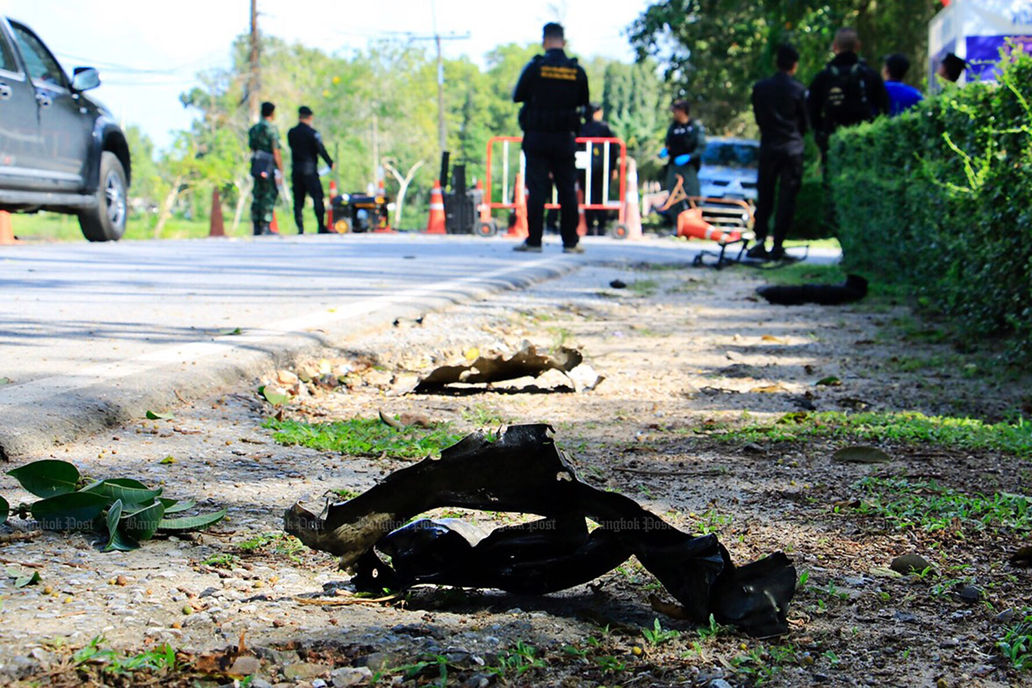 Two suspect rebels were killed during an exchange of gunfire in Pattani. (Bangkok Post file photo)