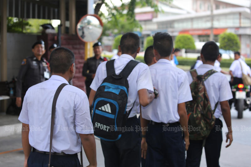 The Education Ministry plans to improve vocational and technical courses to improve the quality of graduates. (Photo by Pattanapong Hirunard)