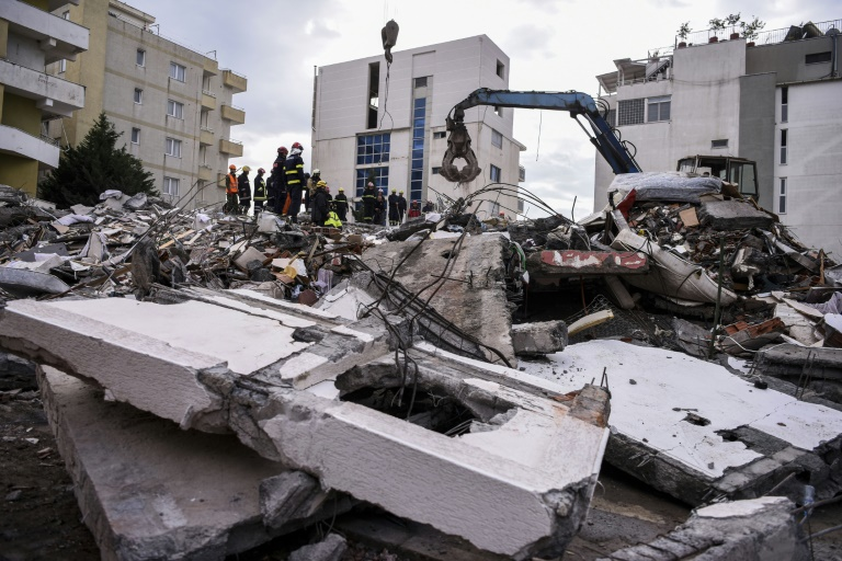 Death toll rises to 46 in Albanian quake