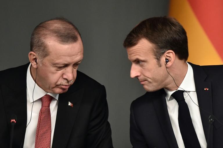 Turkey accuses France's Macron of 'sponsoring terrorism' in