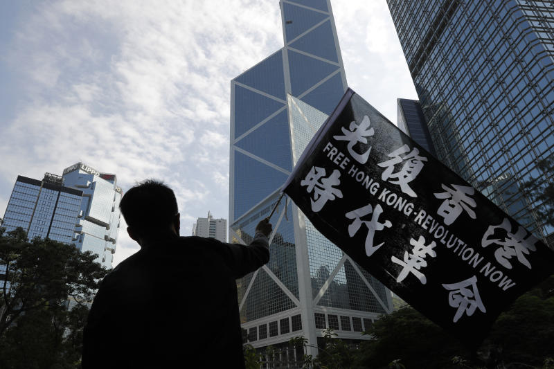 China to sanction United States  organizations after law passed on Hong Kong