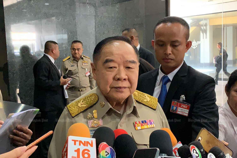 Deputy Prime Minister Prawit Wongsuwon