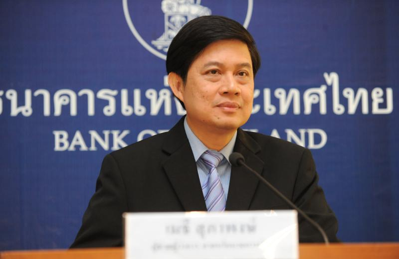 FILE PHOTO: Mathee Supapongse, a deputy governor of the Bank of Thailand, is pictured in 2015. (Photo supplied)