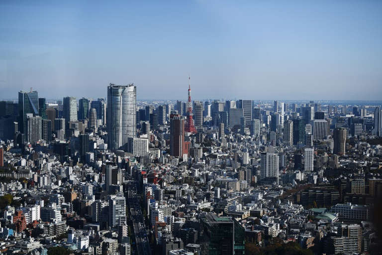 The Tokyo skyline. Japan is ranked one of the world's worst for gender parity. (AFP photo)