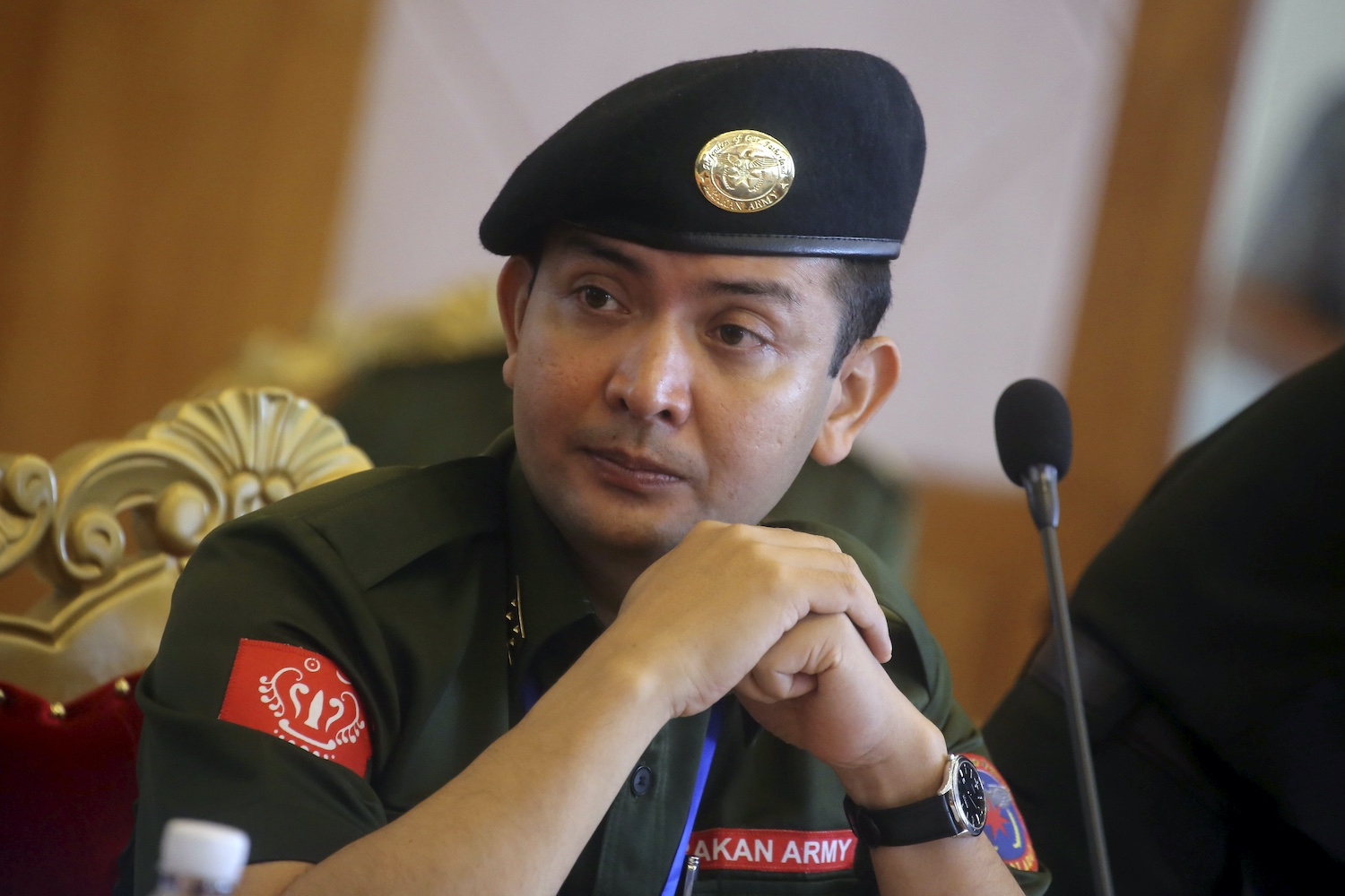 Tun Myat Naing is the commander-in-chief of the Arakan Army, which has been fighting the Myanmar army in Rakhine state. (Reuters file photo)