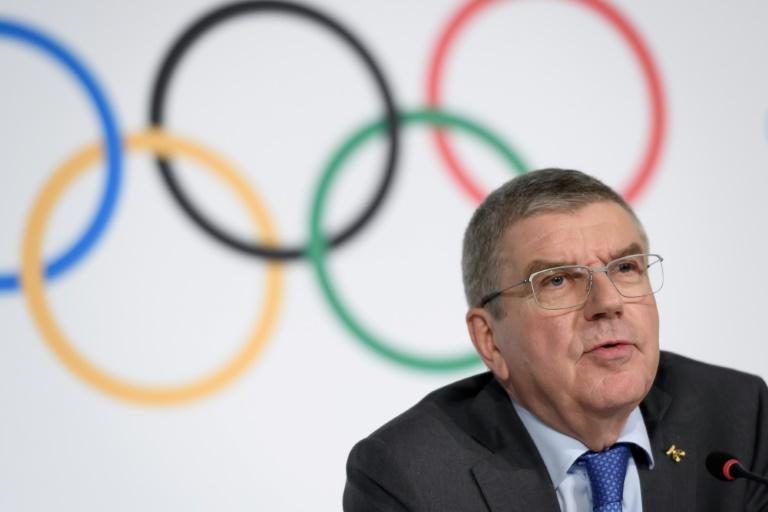 International Olympic Committee (IOC) president Thomas Bach.