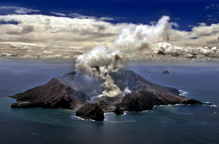 New Zealand volcano: White Island's eruption in pictures