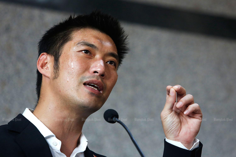 Thanathorn Juangroongruangkit, Future Forward Party leader. (Bangkok Post file photo)