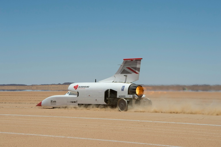 Land Speed Record >> Revving Up To A New Speed Record In The Kalahari