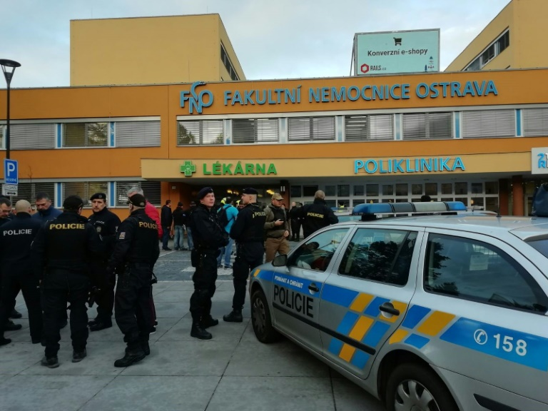 The gunman allegedly shot people at close range as they sat waiting in the trauma ward of the Faculty Hospital in Ostrava.