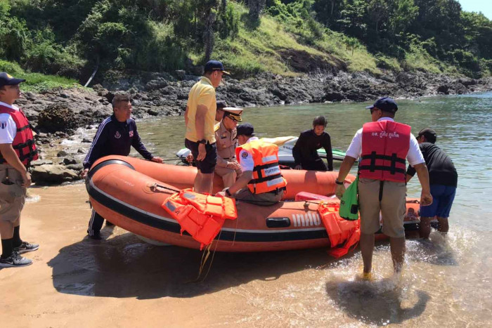 Search continues for Polish, Thai kayakers off Phuket
