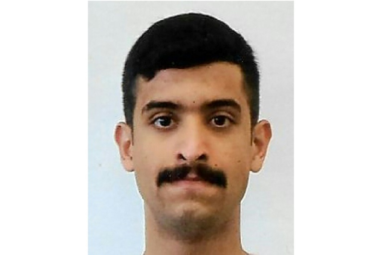 This handout photo released by the FBI shows the Pensacola shooter identified as 21-year-old Saudi air force officer Mohammed Alshamrani.
