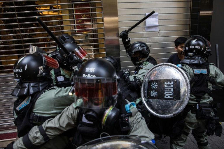 The Hong Kong government has repeatedly rejected demands from protesters to have a fully independent inquiry into police behaviour during the protests.
