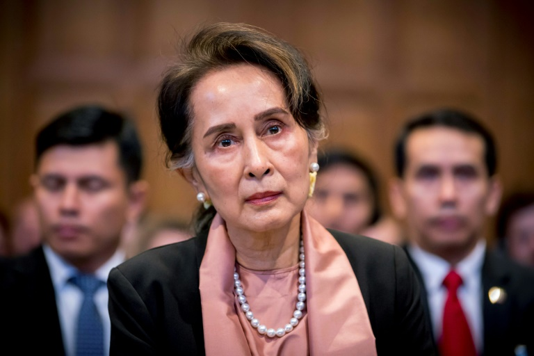 Suu Kyi's defence of the same military that once kept her locked up has since caused international condemnation.