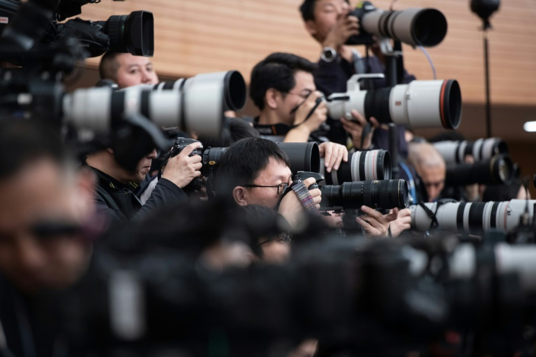 The press freedom watchdog said it counted at least 48 journalists jailed in China, one more than in 2018, as President Xi Jinping ramps up efforts to control the media.