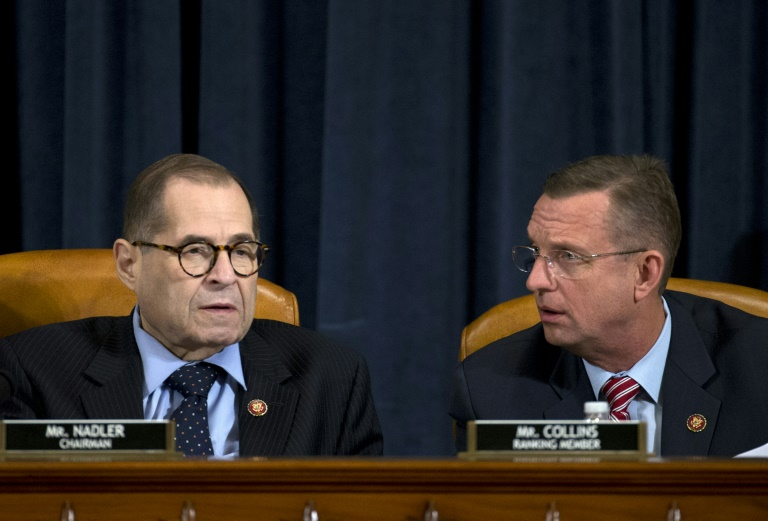 US House panel battles over Donald Trump impeachment articles