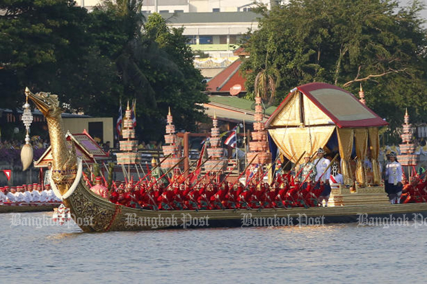 Royal barge procession completes King's coronation